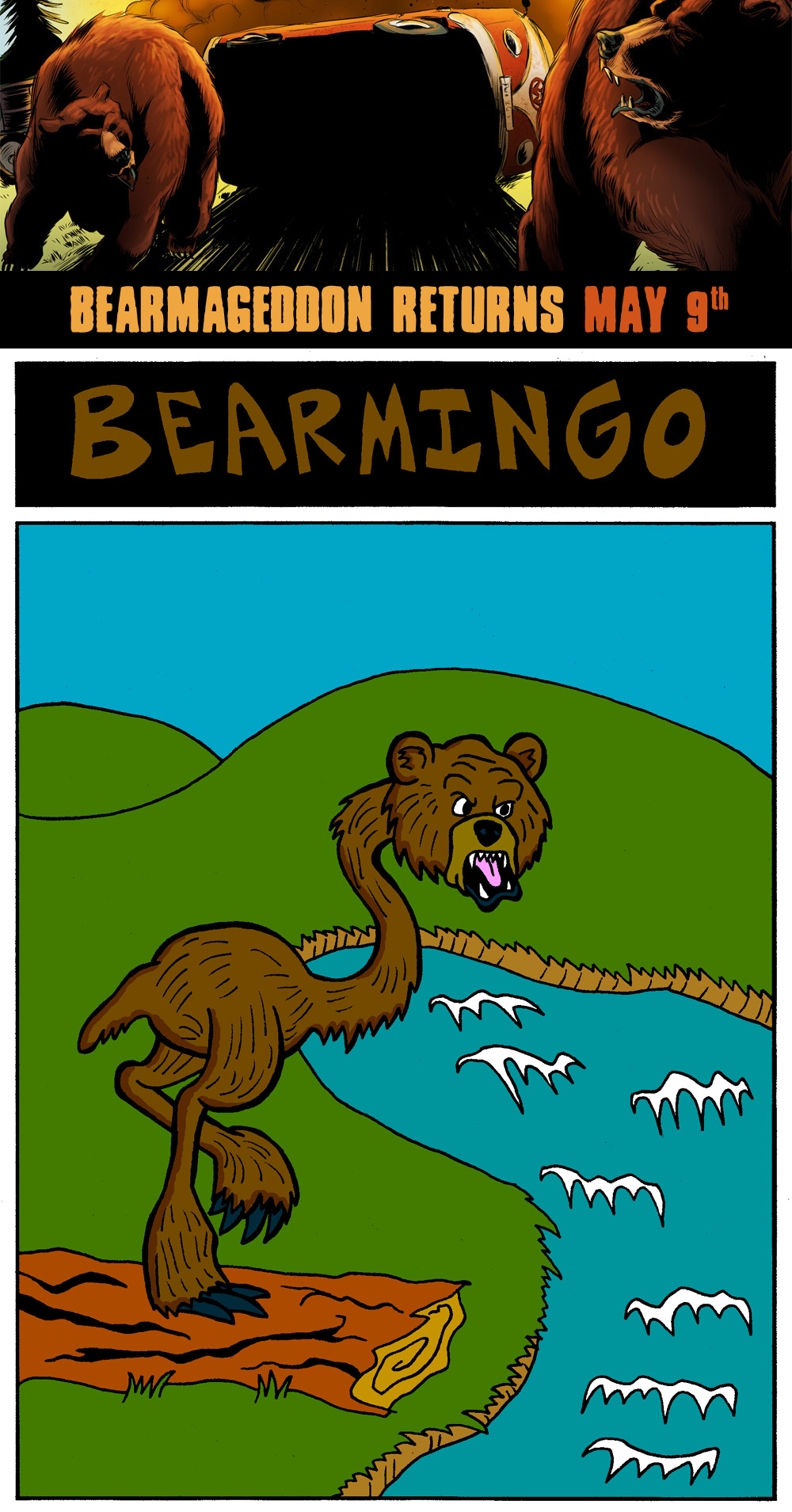 Bearmingo is obviously furious about something out of frame