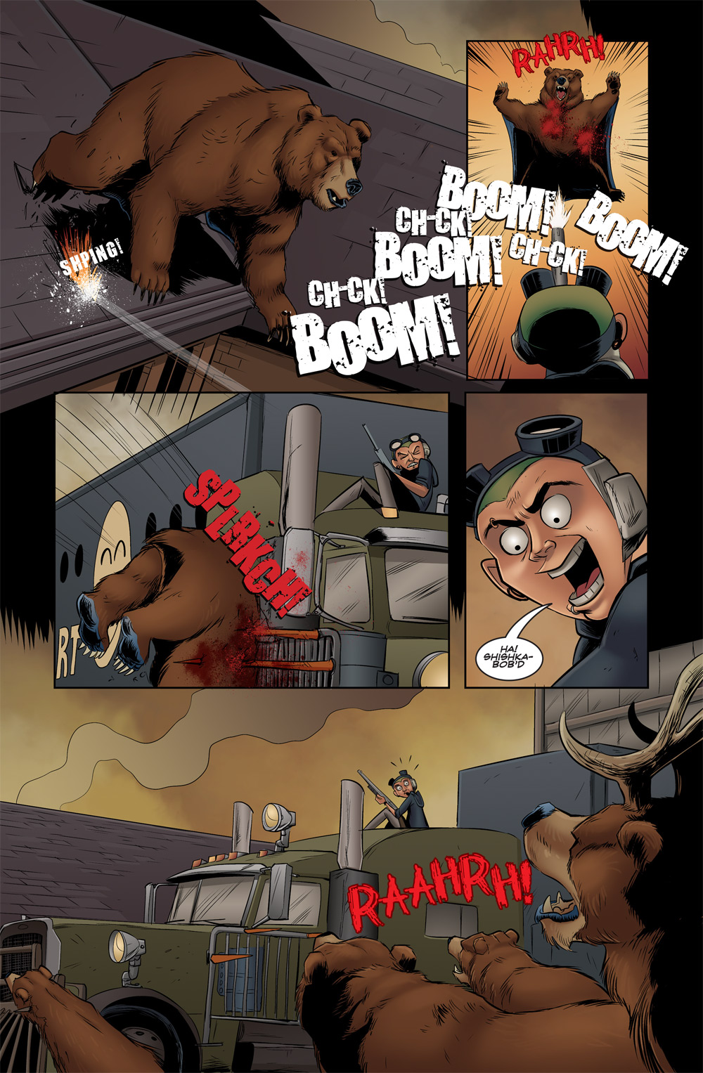 I'd like to think SPLRKCH! could become another household comic sound effect like SNIKT or KRAKADOOM.