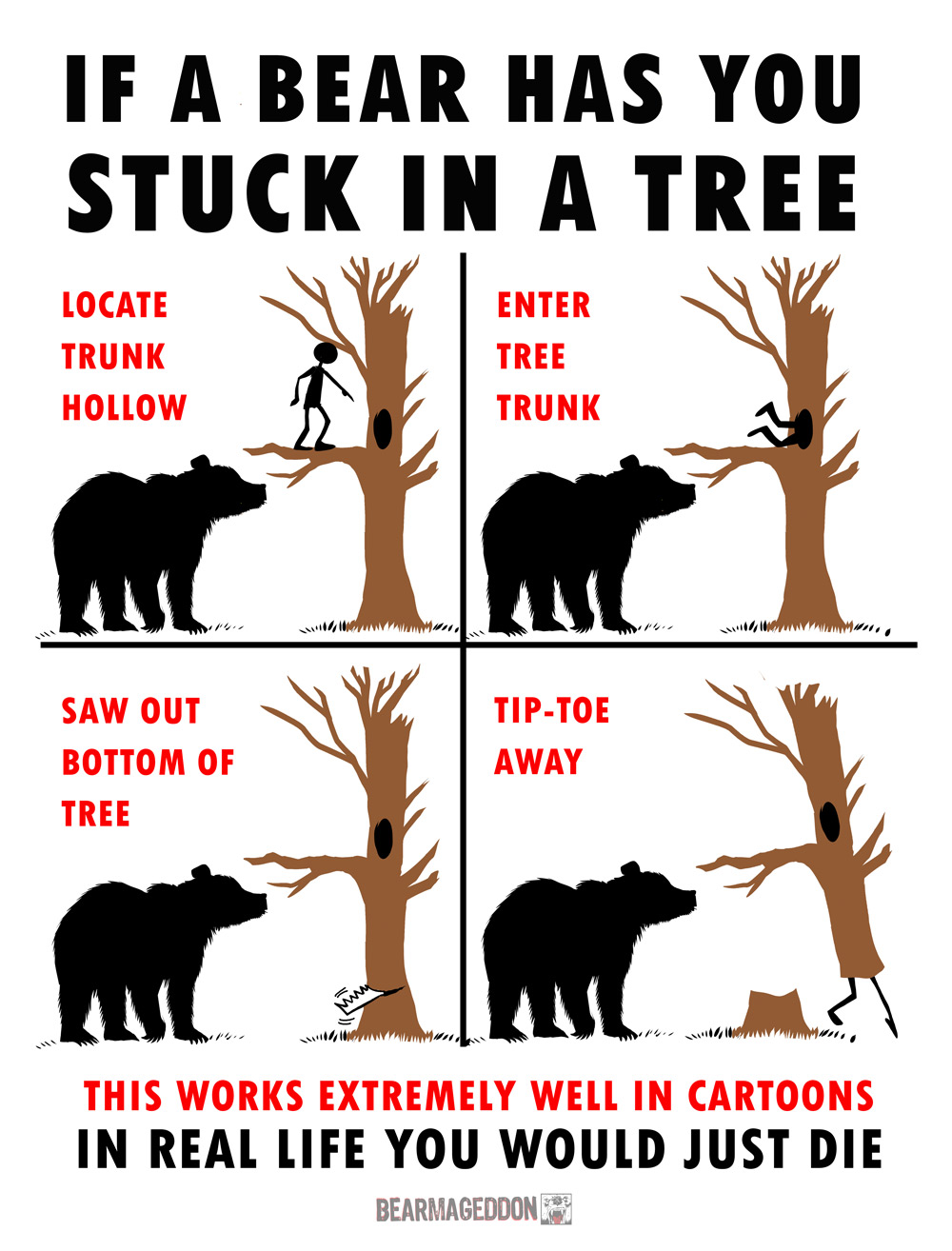 Bear-up-tree-CARTOON
