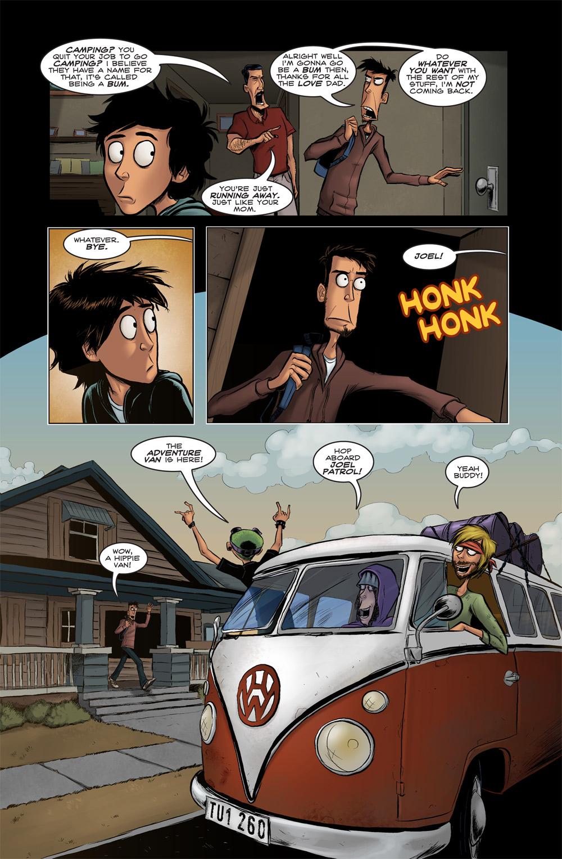 HW.  Hippie Wagon.